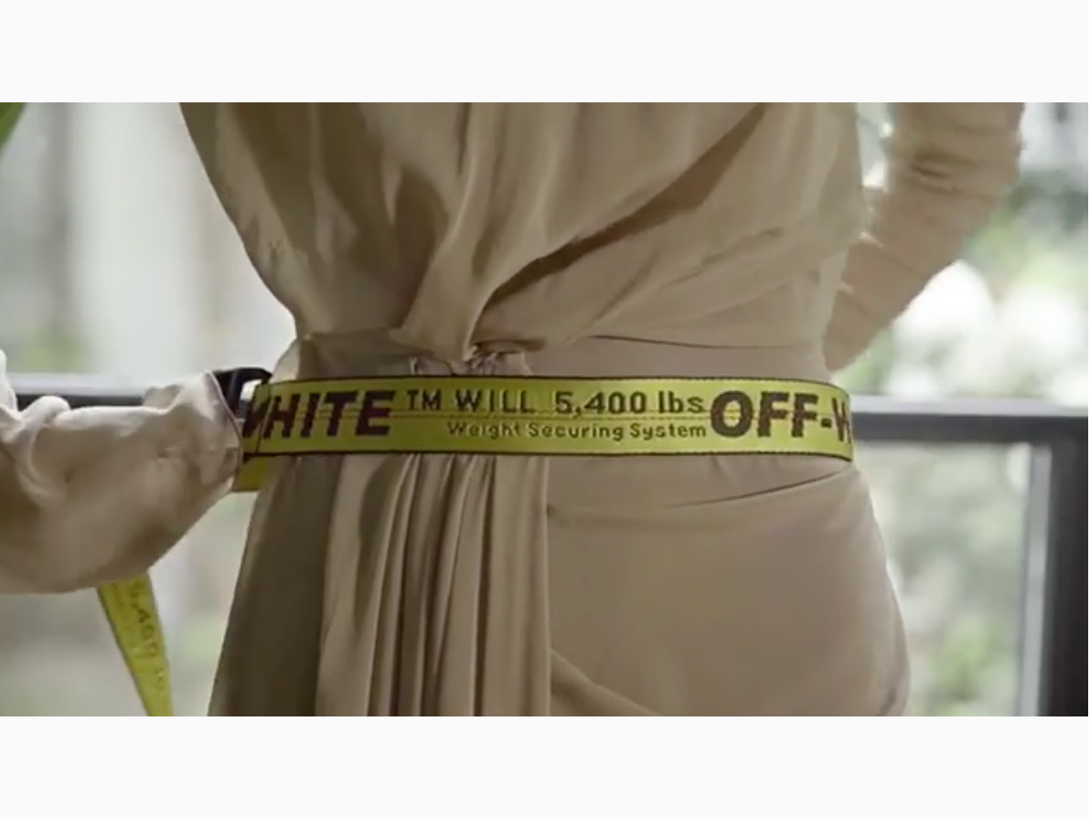 OFF-WHITE Release Industrial Belt 'How To'