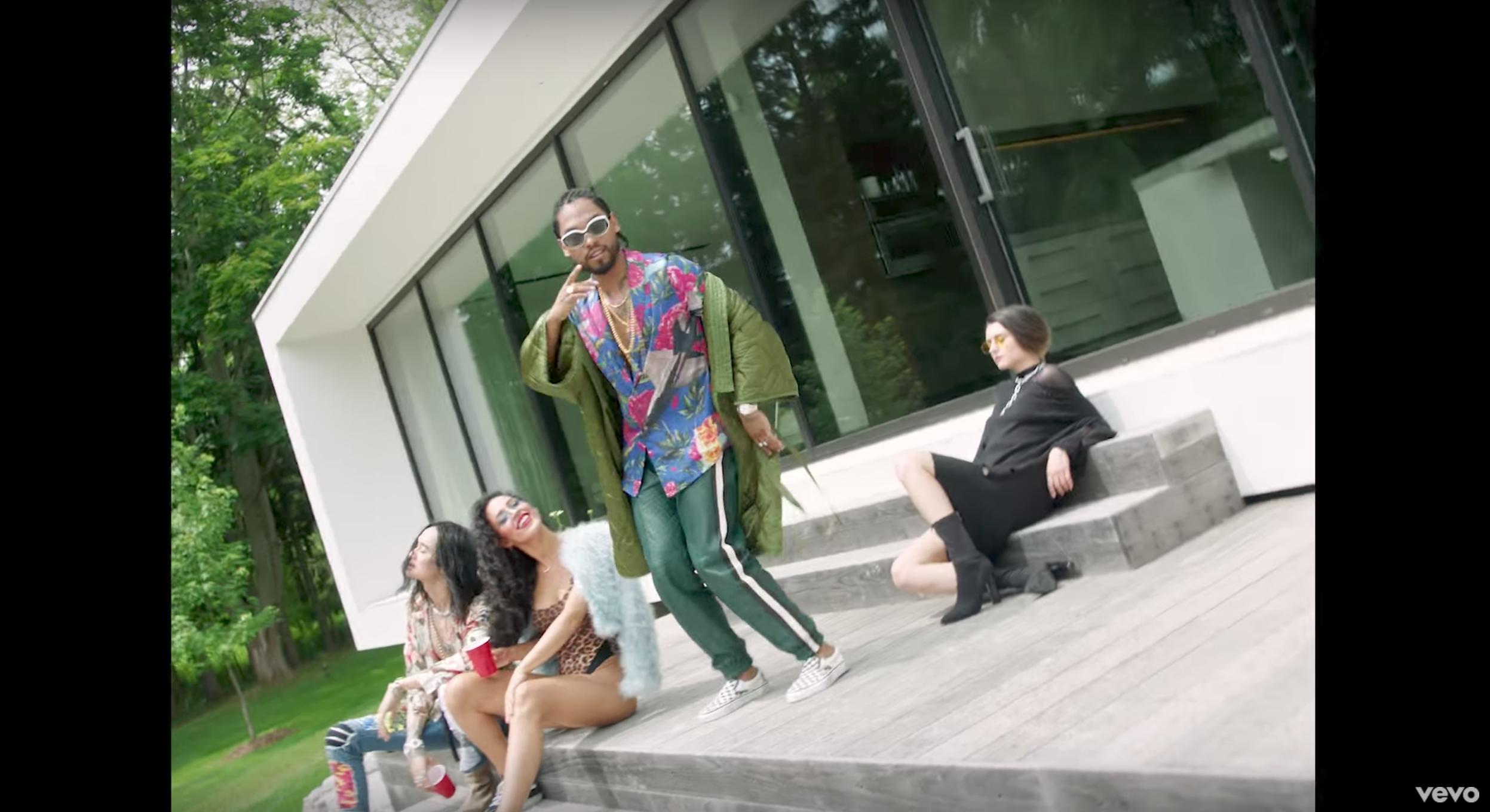 Get The Look: Miguel Featuring Travis Scott – Sky Walker Music Video