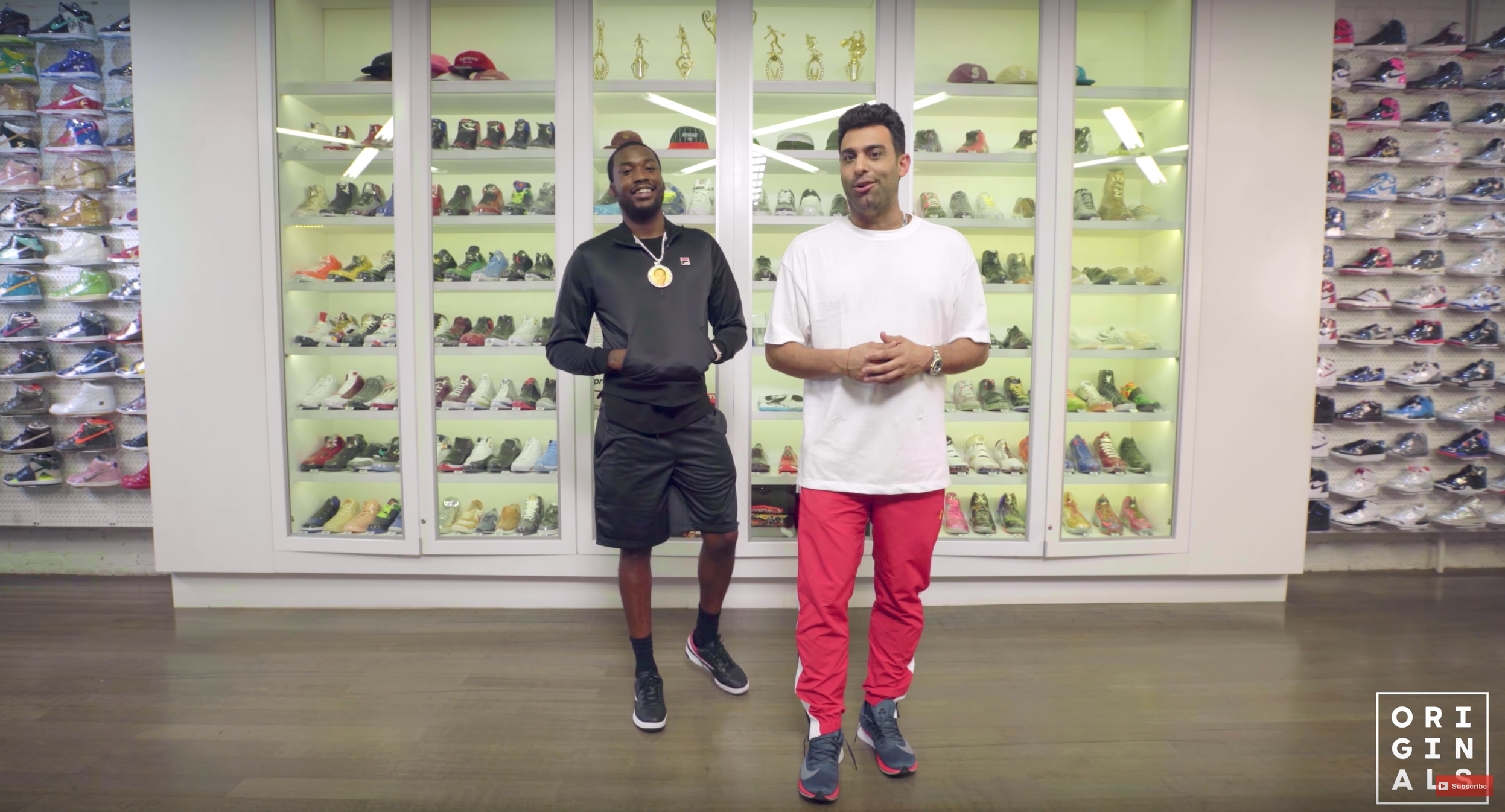 Meek Mill Goes Sneaker Shopping With Complex