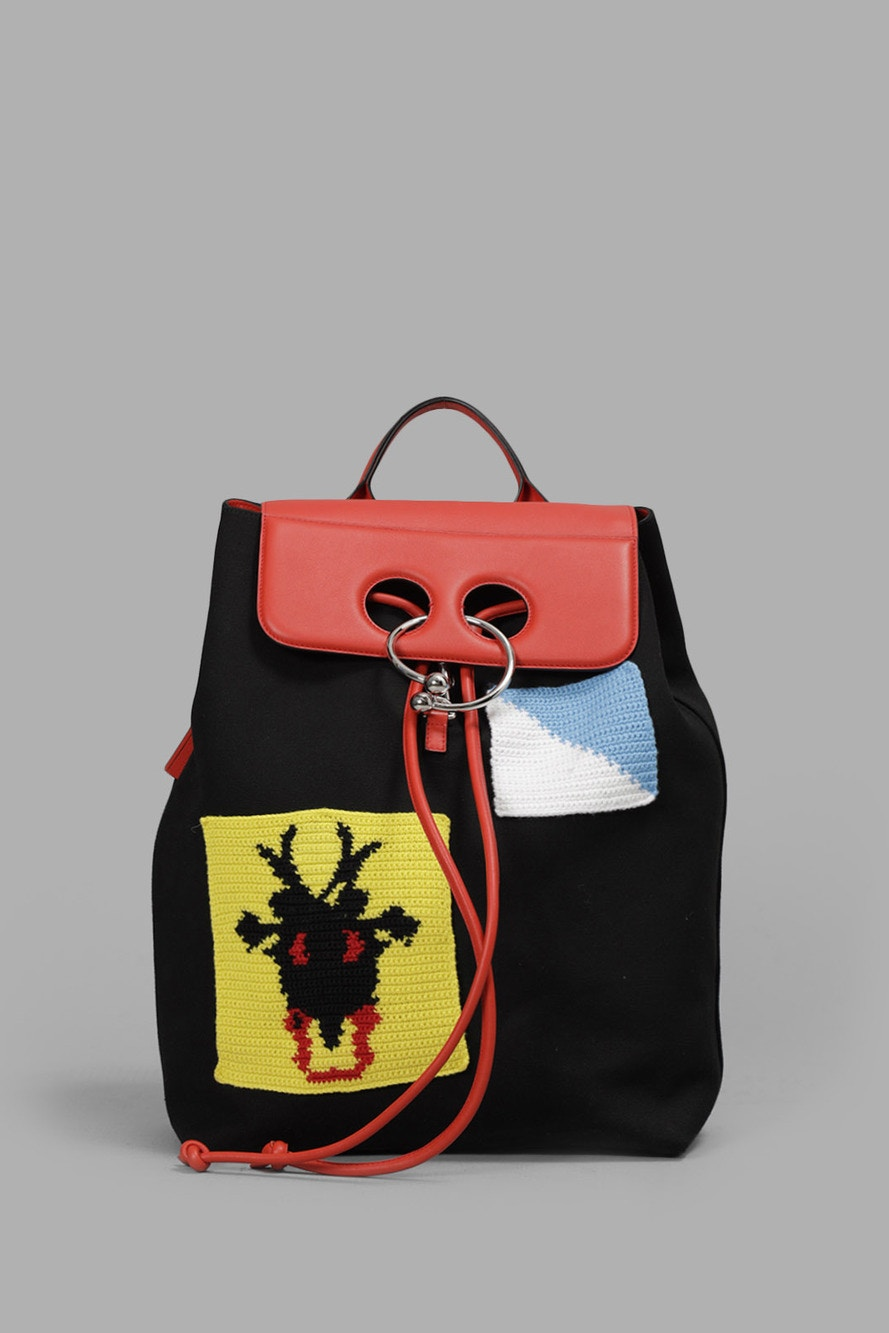 J.W. Anderson Release Multicolor Patch Backpack