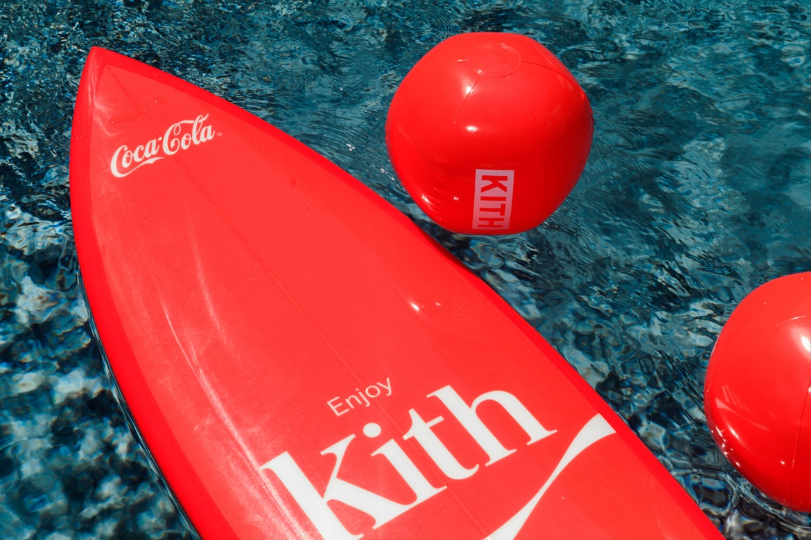 First Look at KITH x Coca-Cola Collaboration