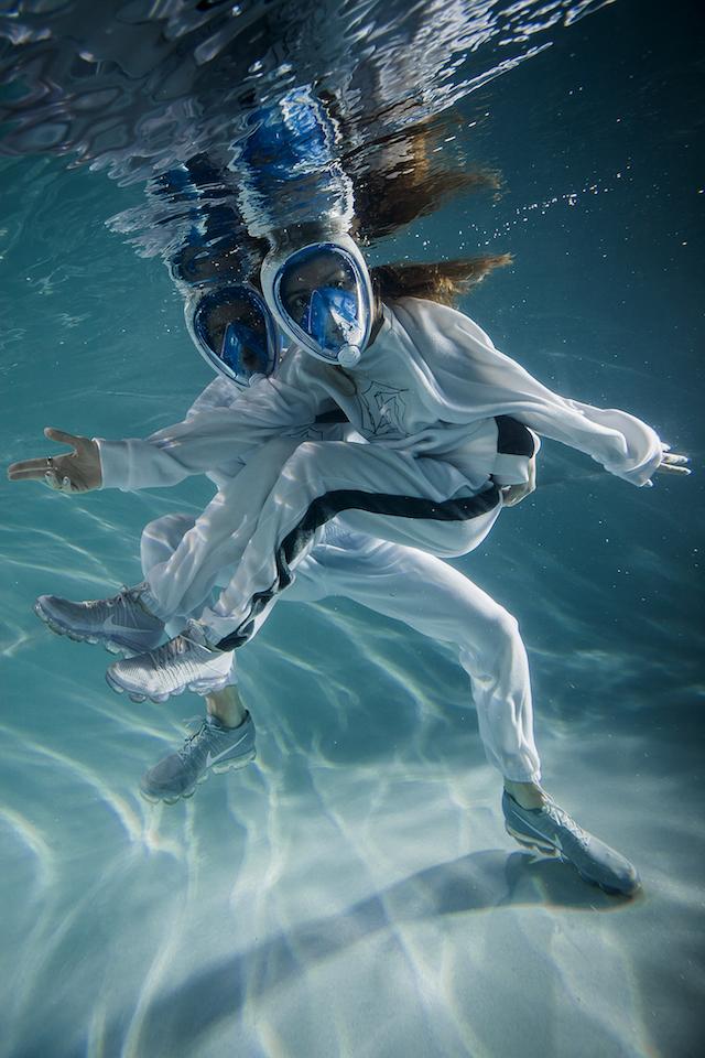 Gosha muse Sever releases underwater lookbook