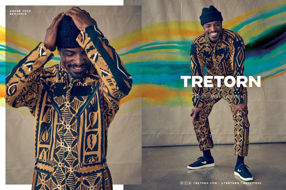 André 3000 stars in the latest Tretorn campaign