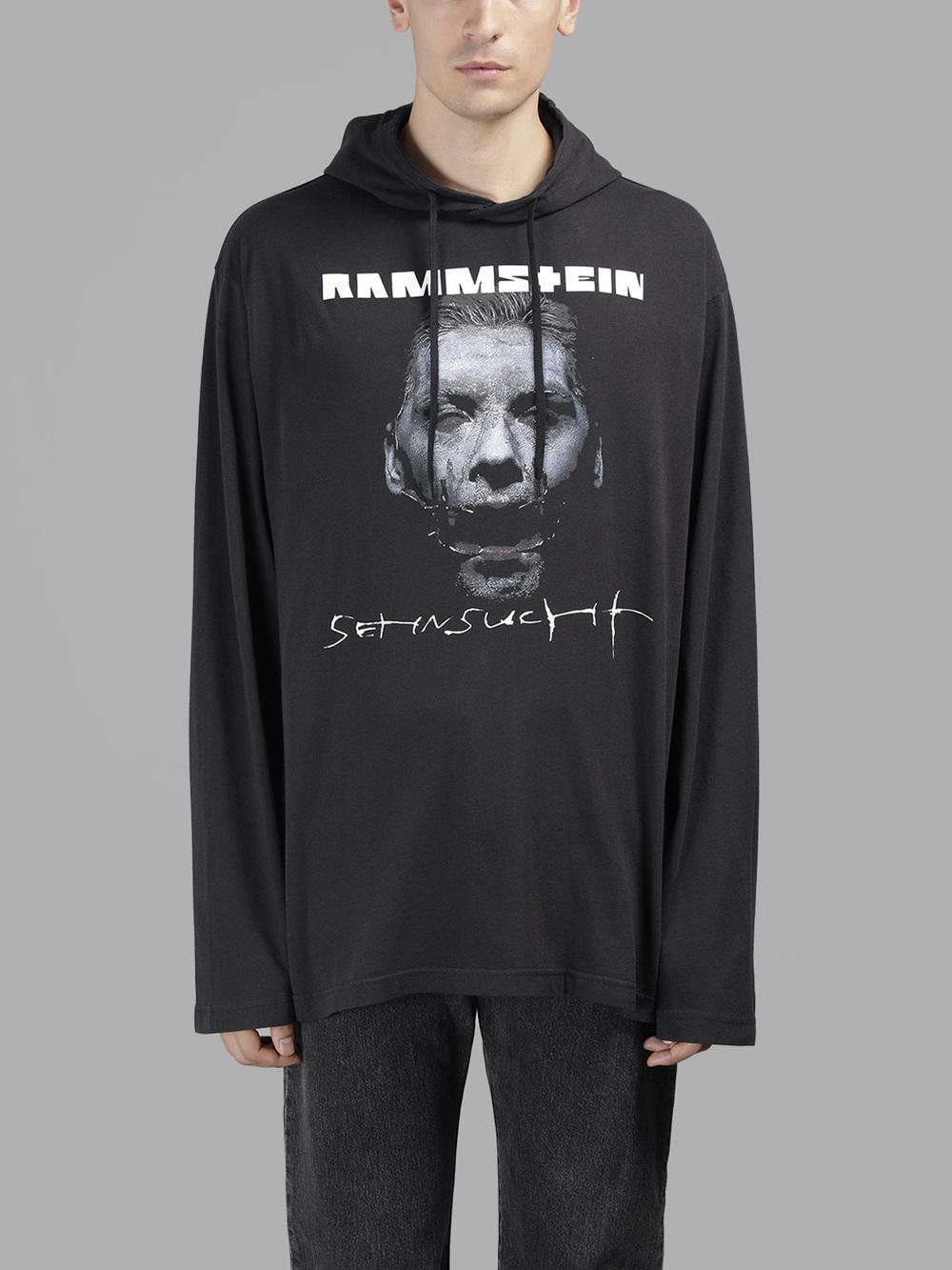 Vetements Release Rammstein Hoodie