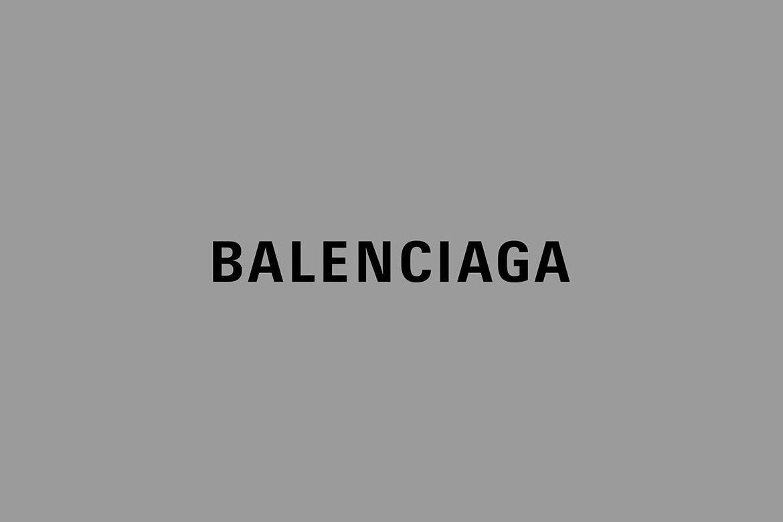 Balenciaga Unveils A New Logo
