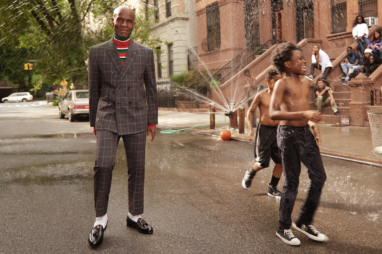 Dapper Dan Fronts the Gucci Fall/Winter 2017 Men's Tailoring Campaign