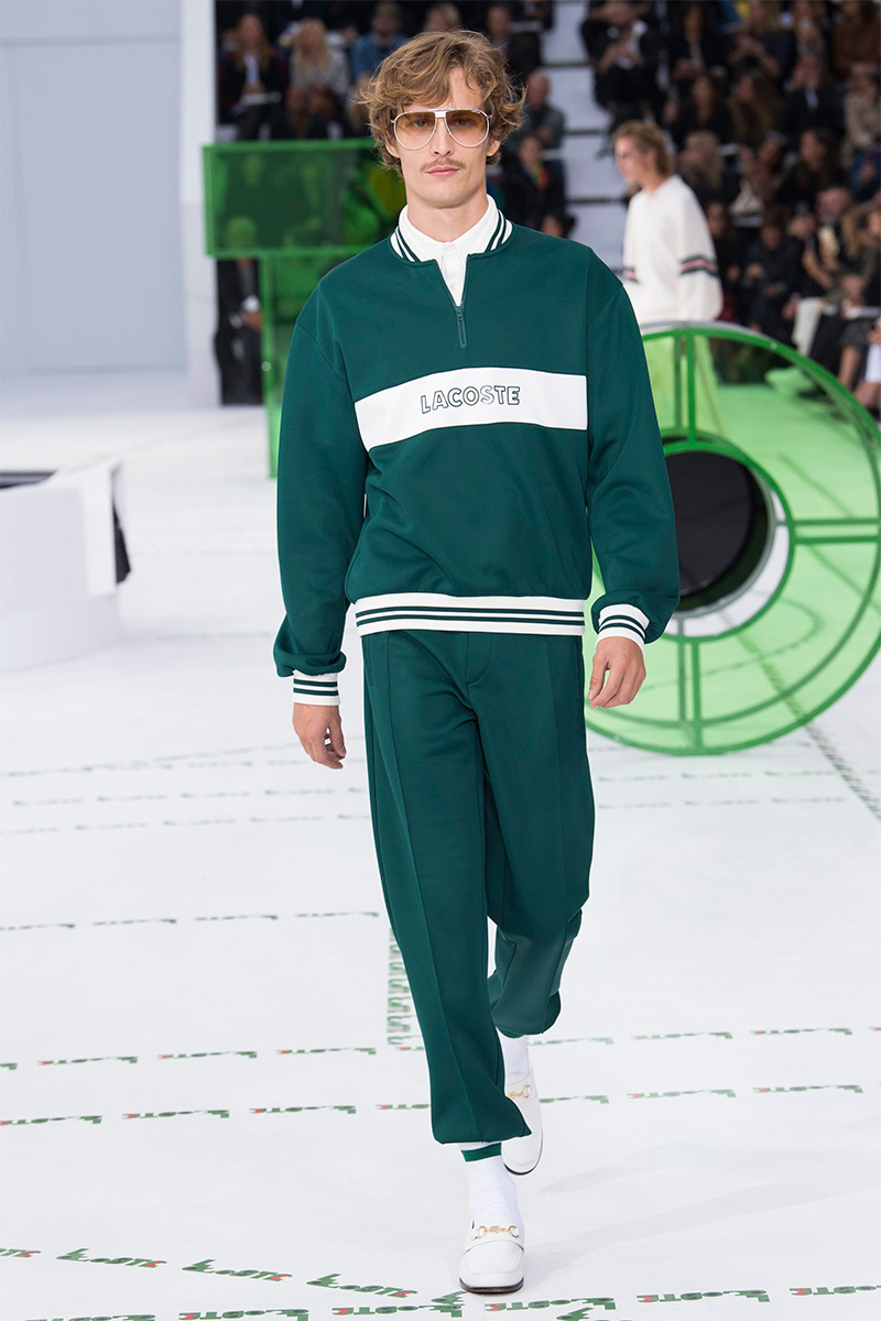 PFW: Lacoste Spring/Summer 2018 Collection