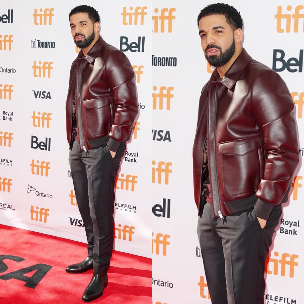 """SPOTTED: Drake Attends """"The Carter Effect"""" Premiere In Prada + YSL"""
