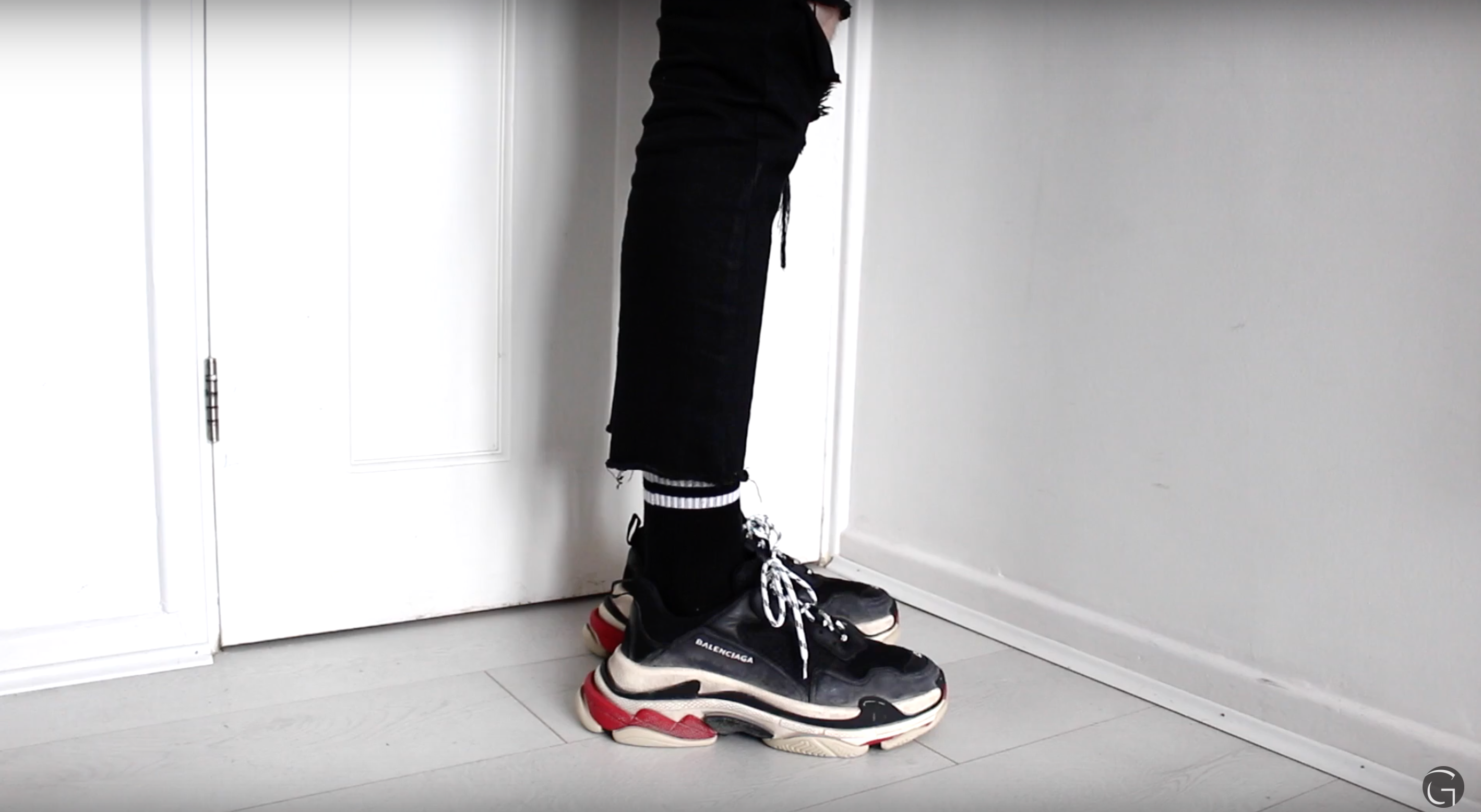 Watch Gallucks Unbox His Balenciaga Triple S Sneakers