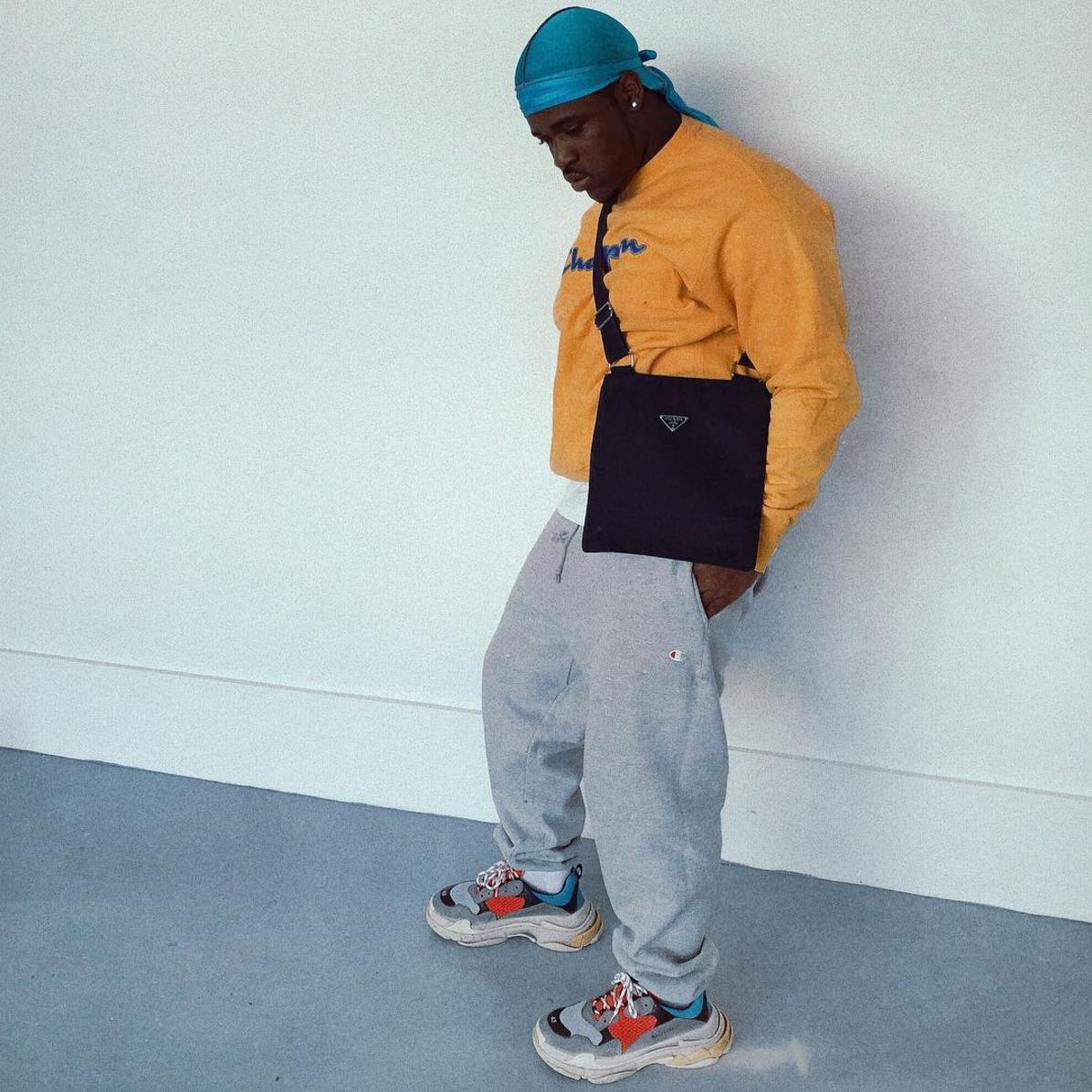 SPOTTED: A$AP Ferg In Balenciaga Triple S Sneakers