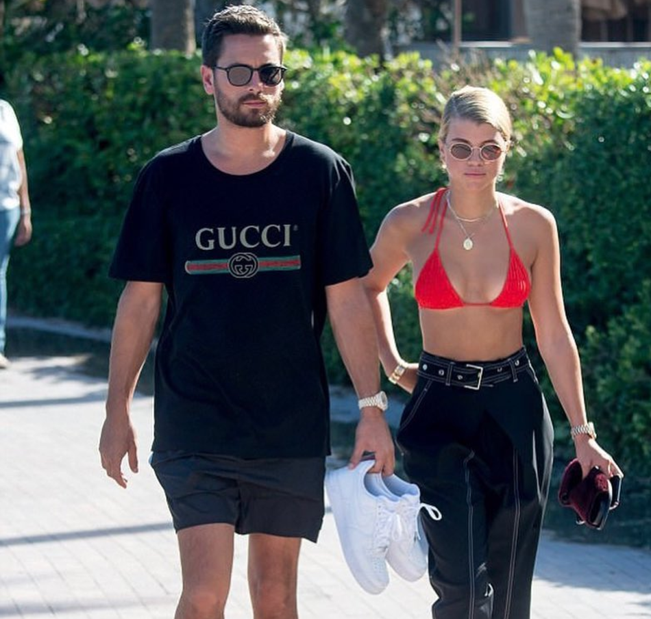 SPOTTED: Scott Disick In Gucci Tee With Sofia Richie