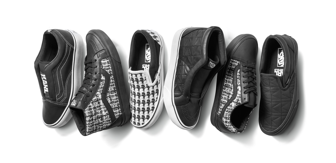 Vans x Karl Lagerfeld Release Lookbook, Product Images And Drop Date