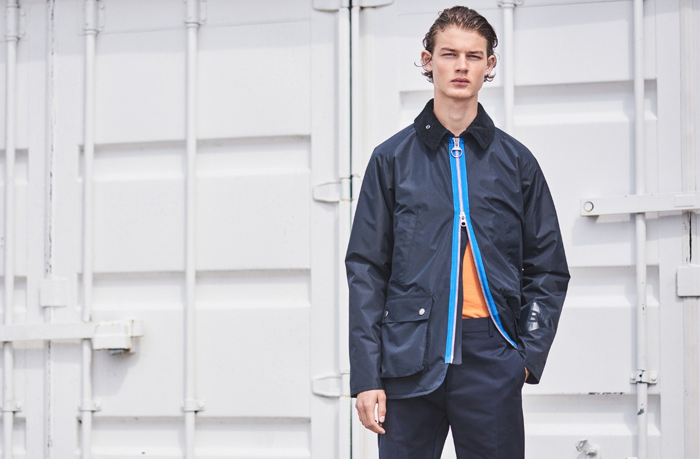 Barbour x Wood Wood Collaborate as part of Autumn/Winter 2017