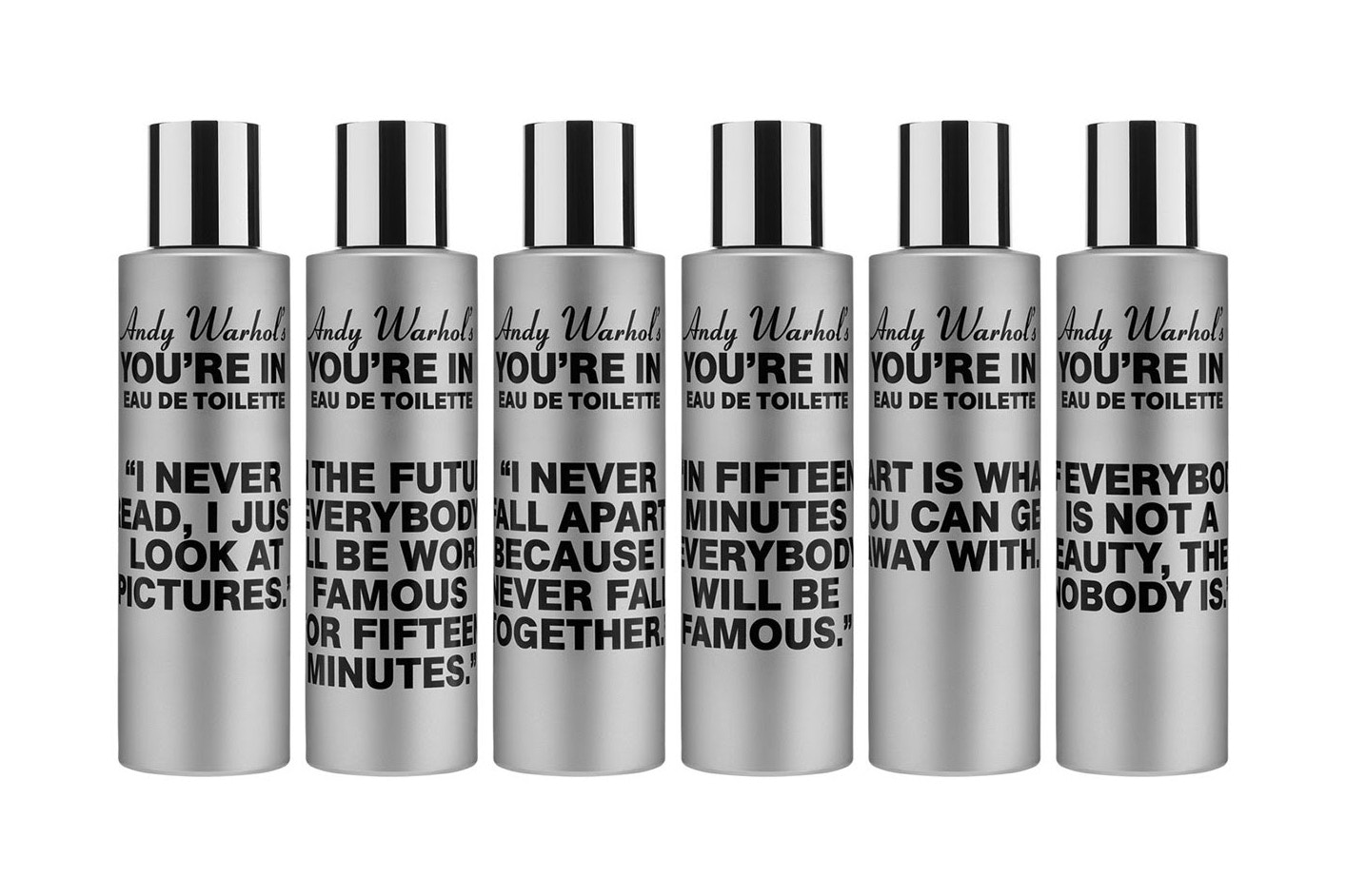 "COMME des GARÇONS ""Andy Warhol's You're In"" Fragrance"