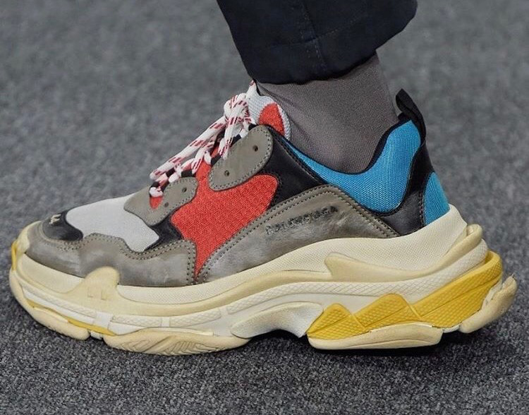 Full Details: The Balenciaga Triple S Sneakers Gets A Release Date