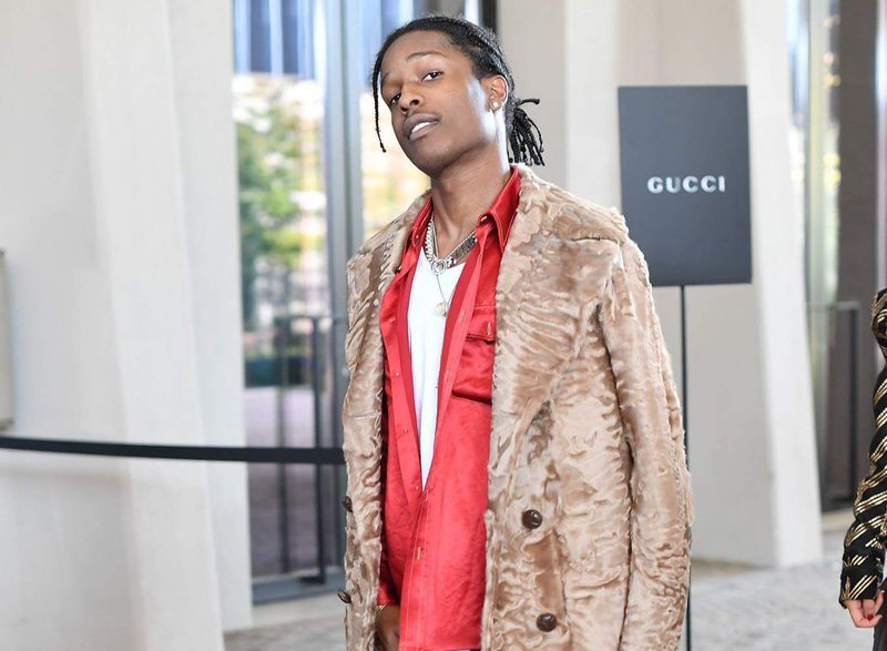 SPOTTED: A$AP Rocky In Head-To-Toe Gucci