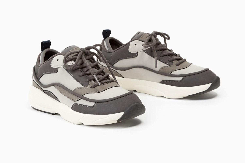 Balenciaga Triple S Style Sneakers Available in Zara