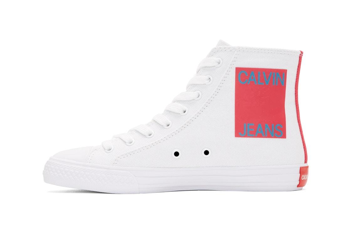 "Calvin Klein Released Their Own ""Calvin Jeans"" High-Tops"