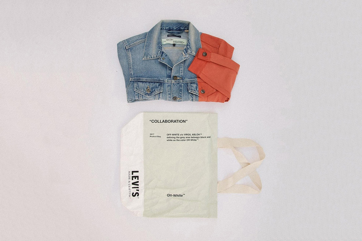 Levi's Made & Crafted Collaboration with OFF-WHITE c/o Virgil Abloh