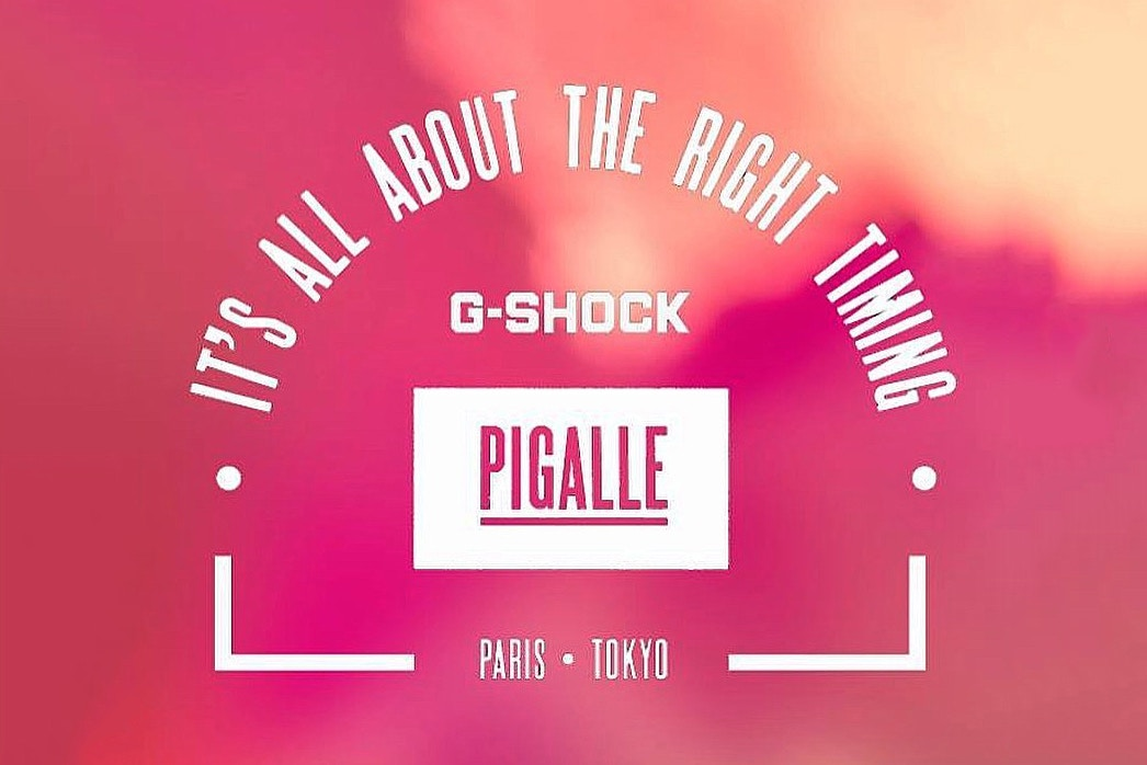 Details on G-Shock and PIGALLE's Collaboration