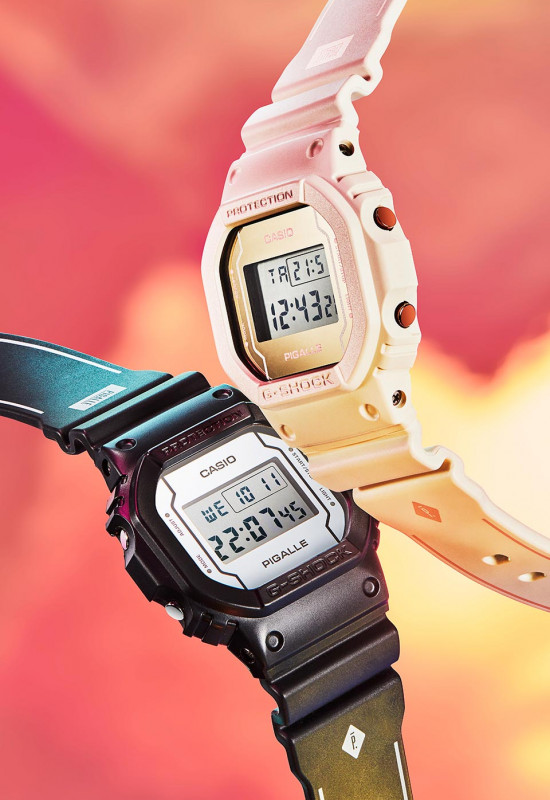 Casio and Pigalle Team Up for a G-Shock Collaboration