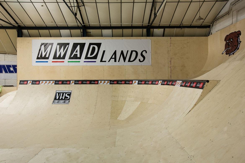 Get a Look at Palace's MWADLANDS Indoor Skatepark