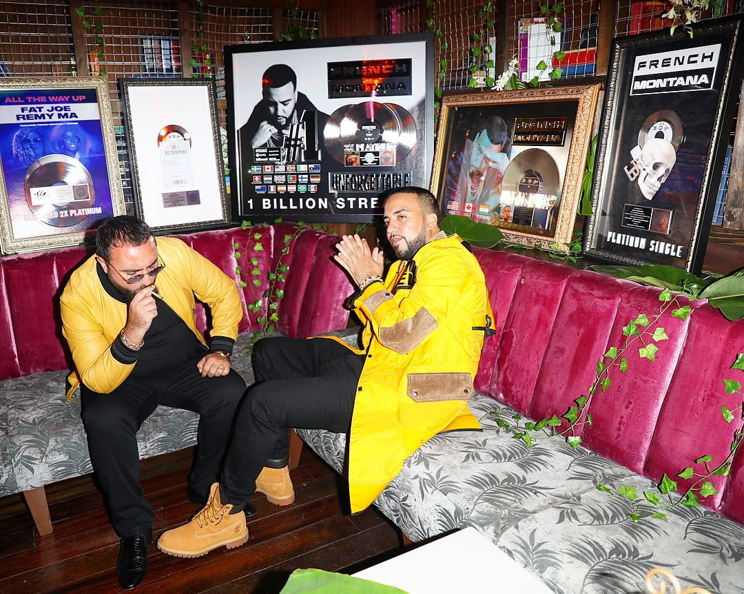 SPOTTED: French Montana in Junya Watanabe x The North Face