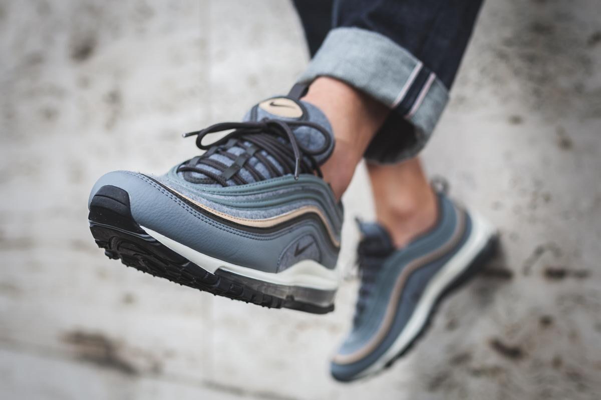 """A Look at Nike's Air Max 97 Premium in """"Cool Grey"""""""