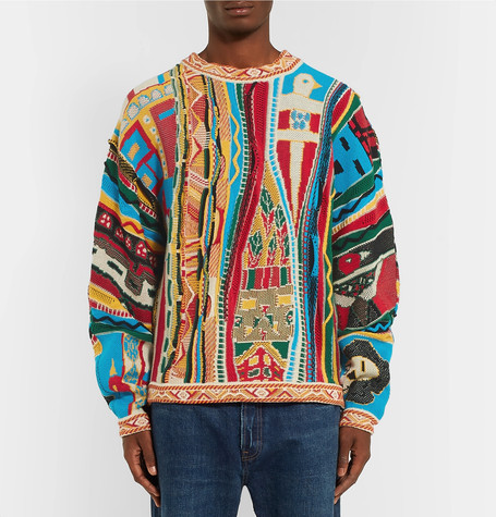 KAPITAL Brings us a 90's Hip-Hop Inspired Sweater