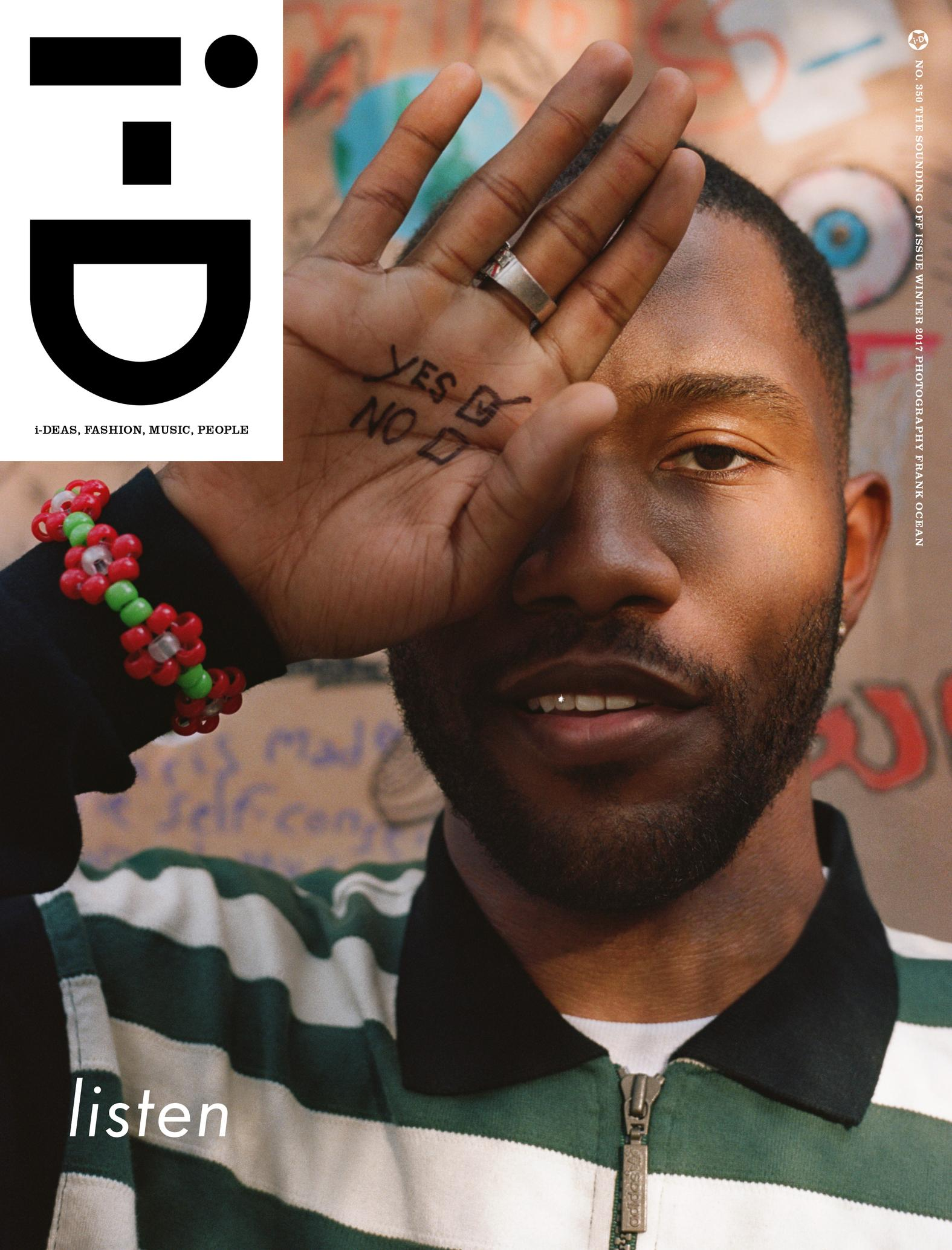 i-D Unveil Frank Ocean As Cover Star With Rare Interview And Photo Diary