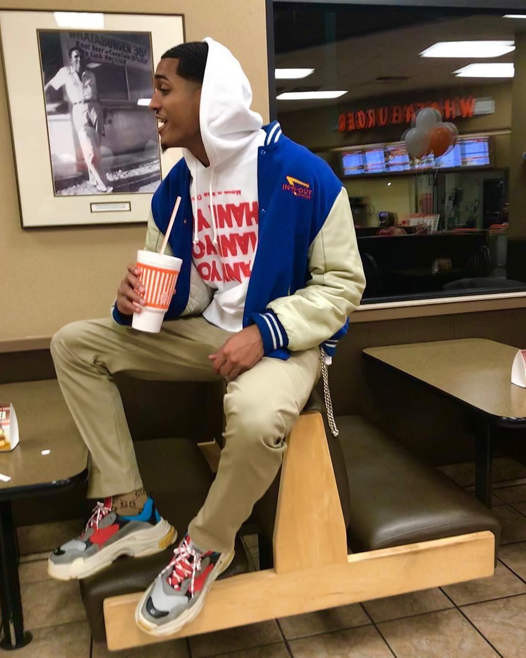 SPOTTED: Jordan Clarkson Sporting IN-N-OUT, Gucci and Balenciaga