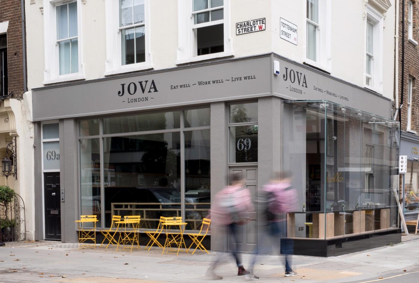 JOVA London: Lifestyle Café and Workspace
