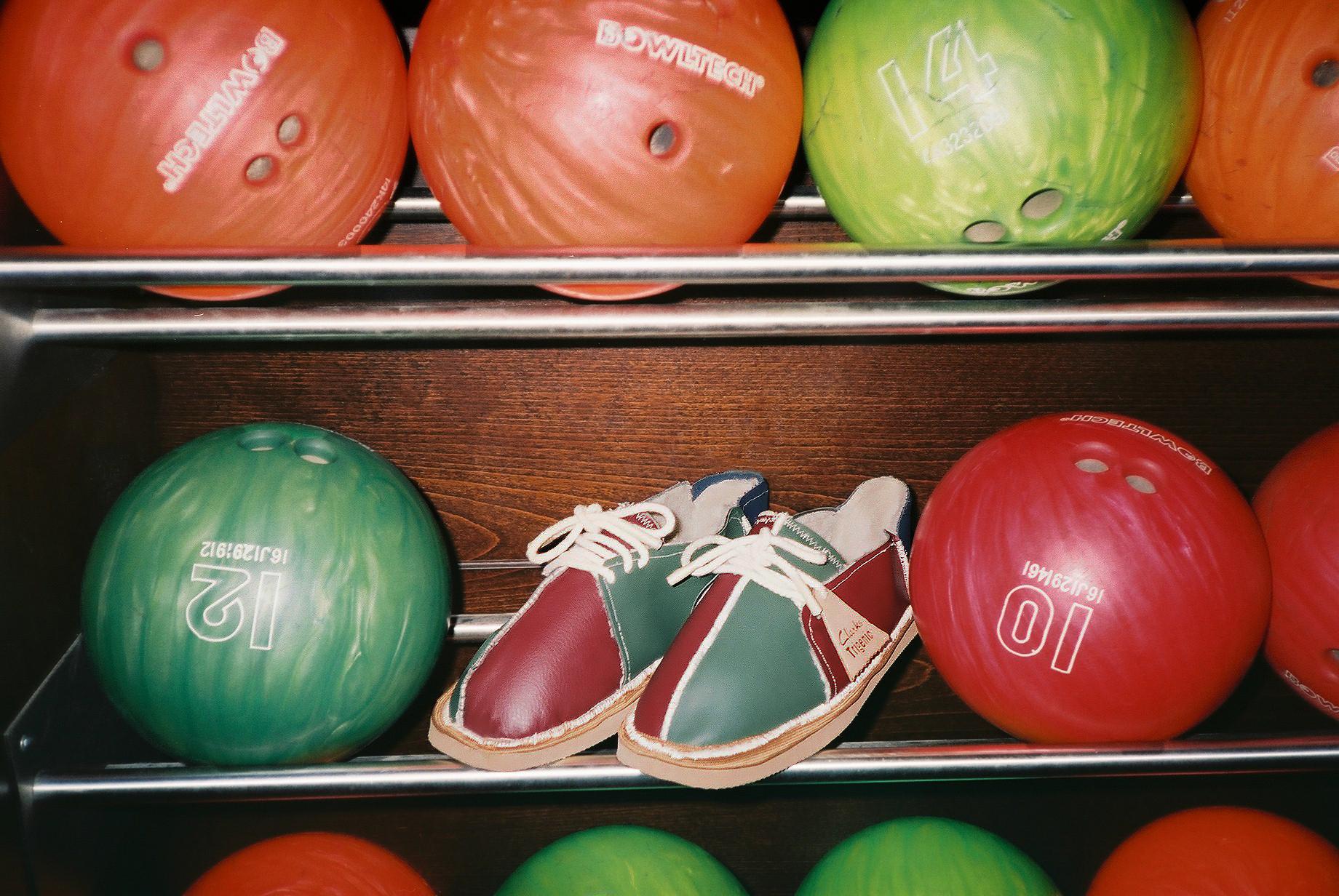 Junior Clint Redesigns Clarks Originals 'Bowling Shoe'