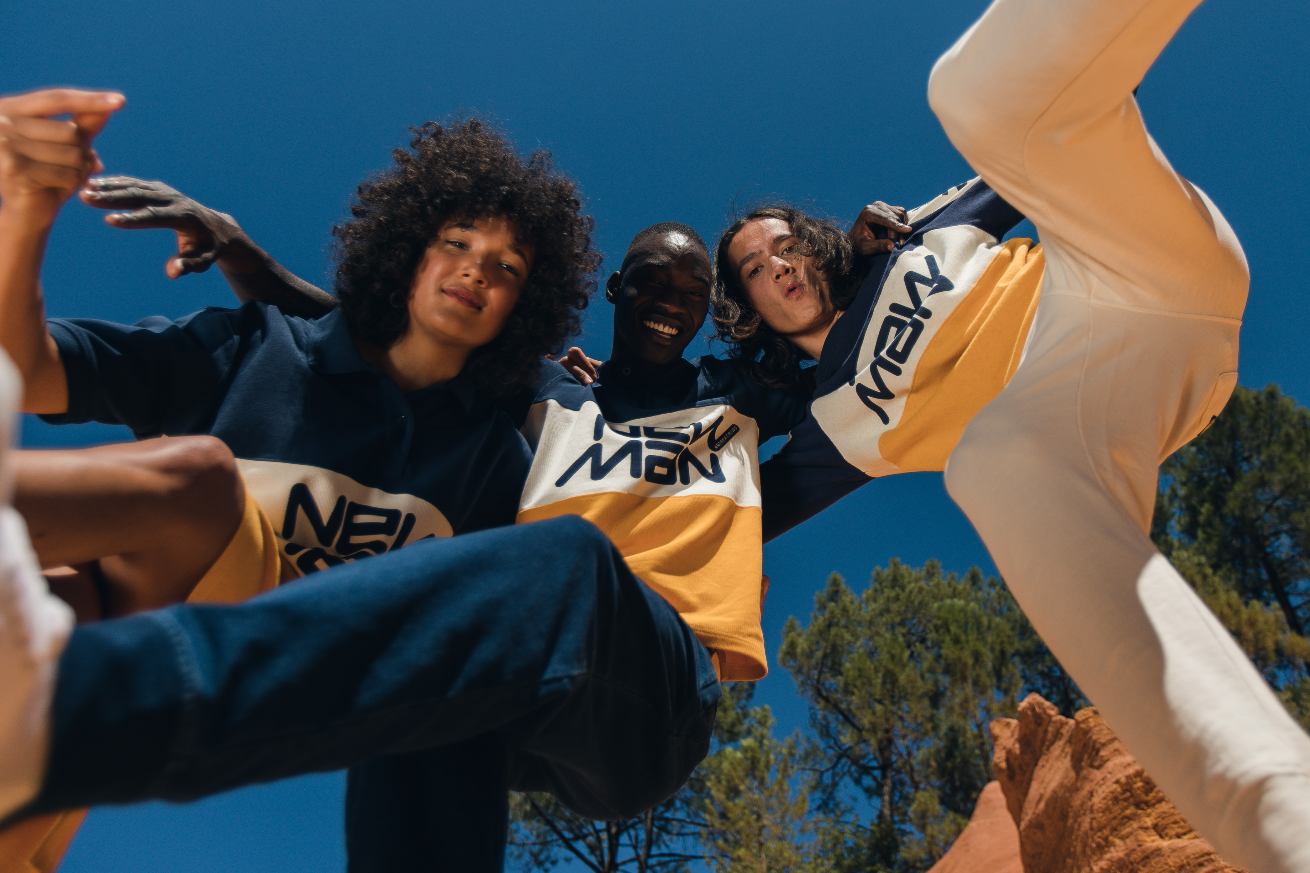 Andrea Crews x New Man come Together for a Collection