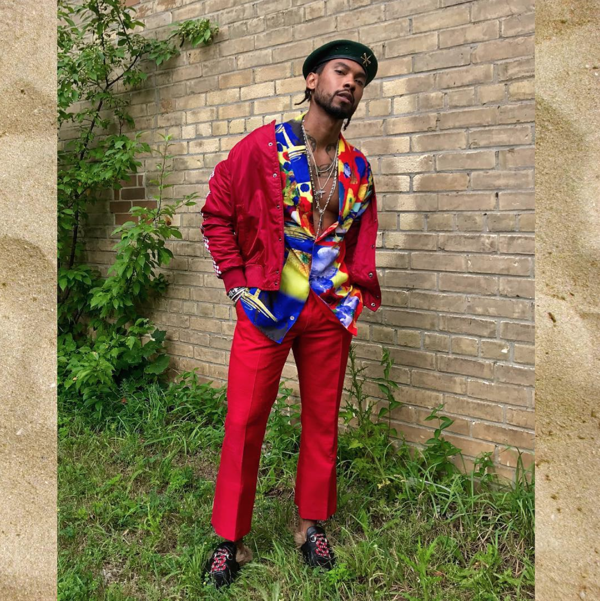 SPOTTED: Miguel in Gucci Loafers