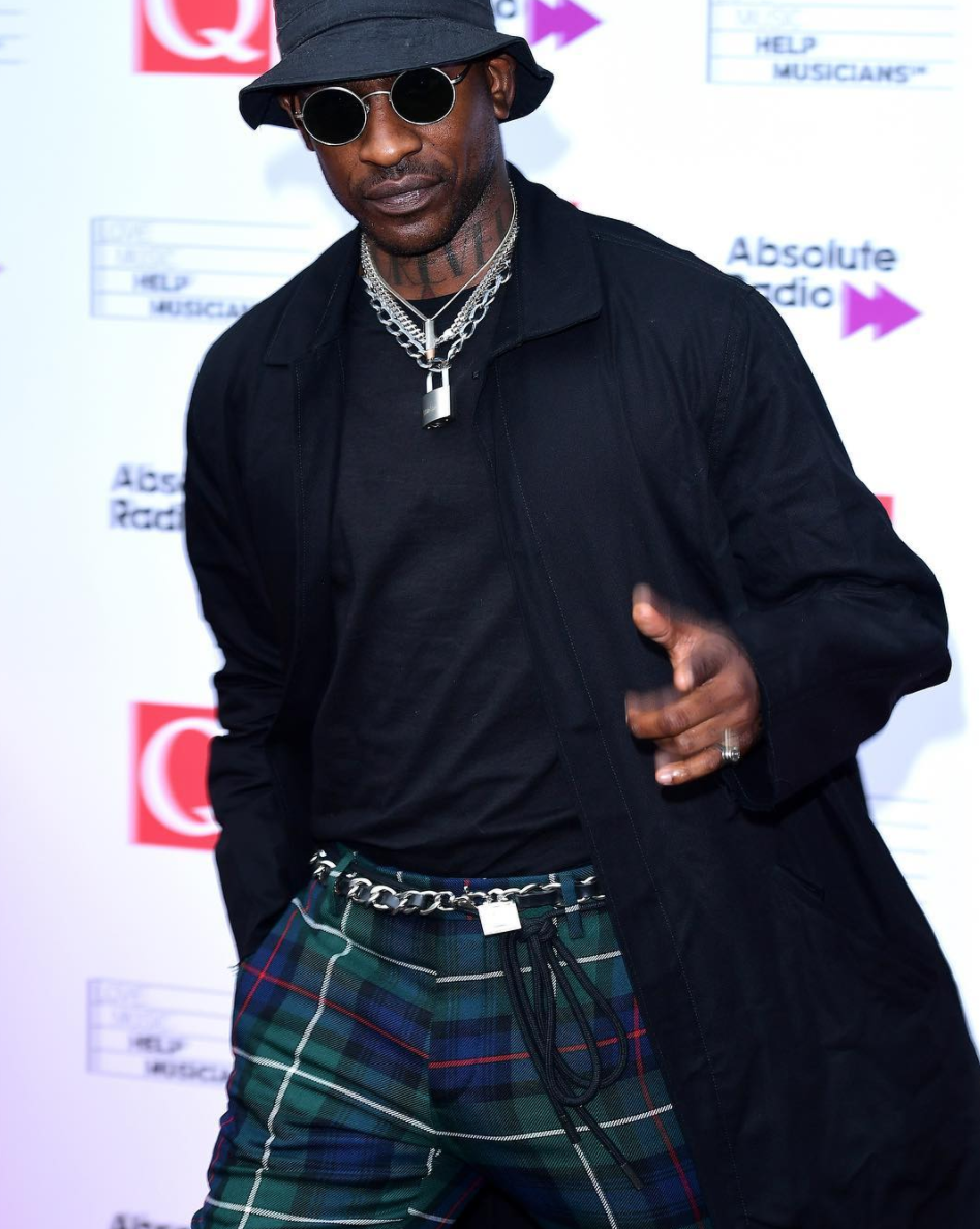 SPOTTED: Skepta in Burberry and OFF-WHITE x Nike