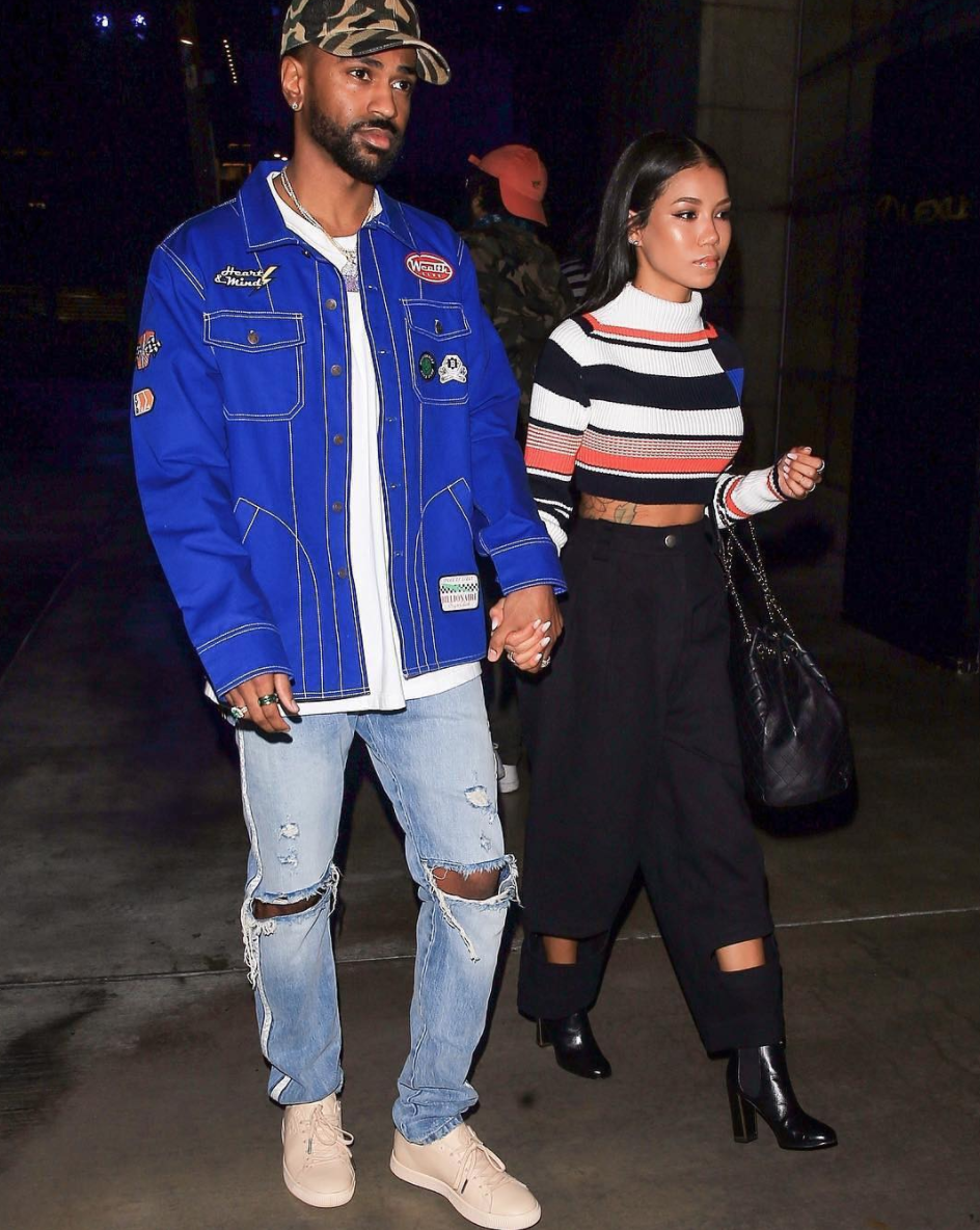 SPOTTED: Big Sean In BBC Shirt Jacket, Vintage BAPE Cap And Big Sean x PUMA Clyde Sneakers