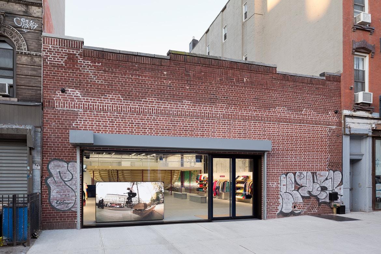 A Look Inside Supreme's Brooklyn Store