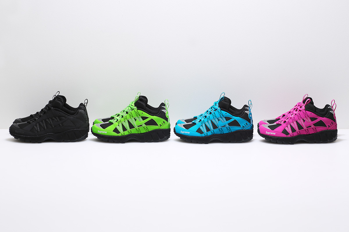 Supreme Collaborate With Nike On Air Humara Collection