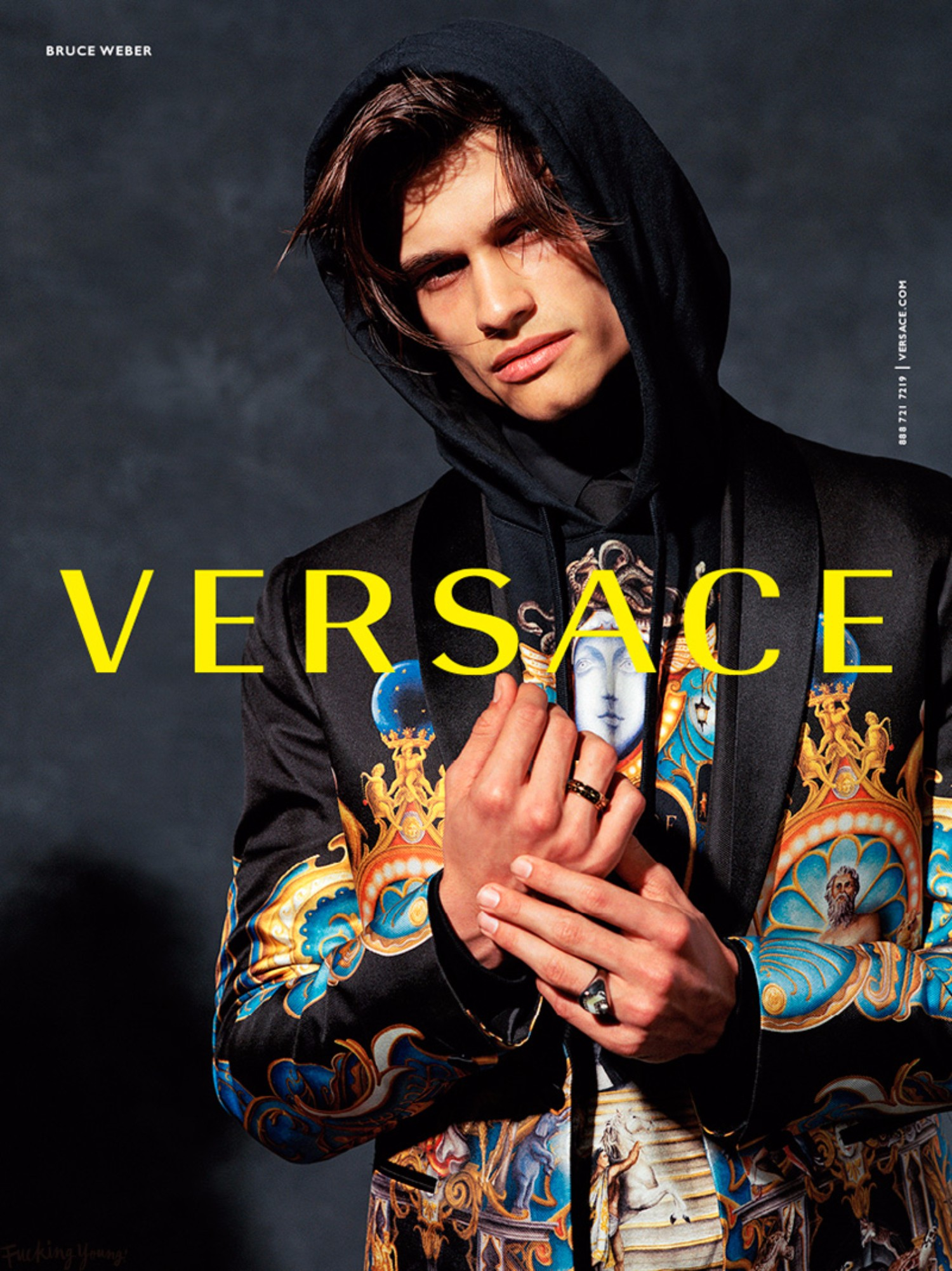 Versace Reveals Fall/Winter 2017 Campaign