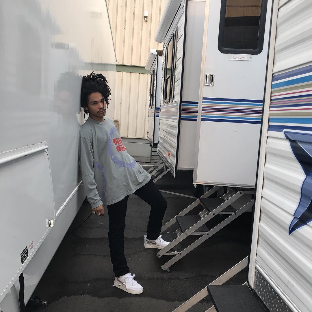 SPOTTED: Luka Sabbat in Nike x OFF-WHITE