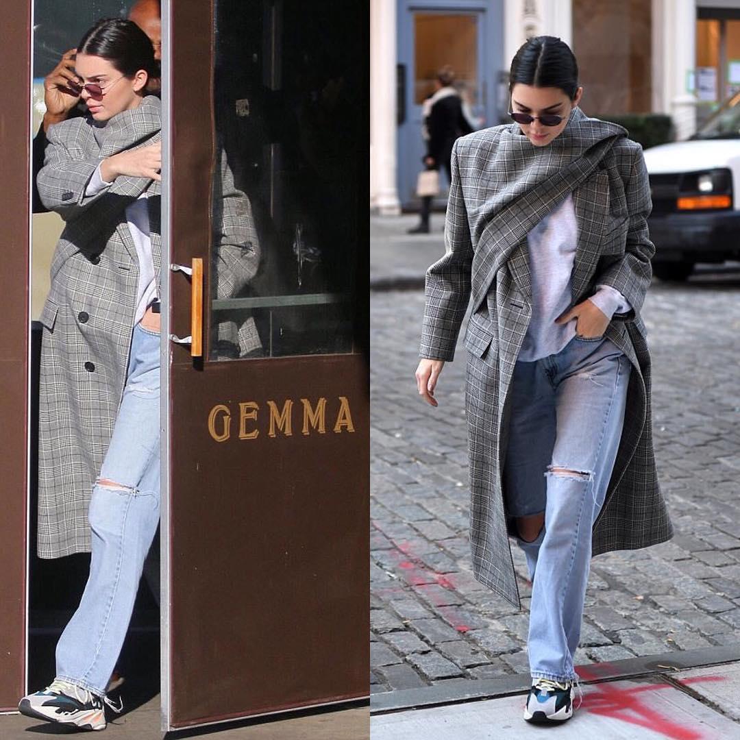 Kendall Jenner Sporting Balenciaga and