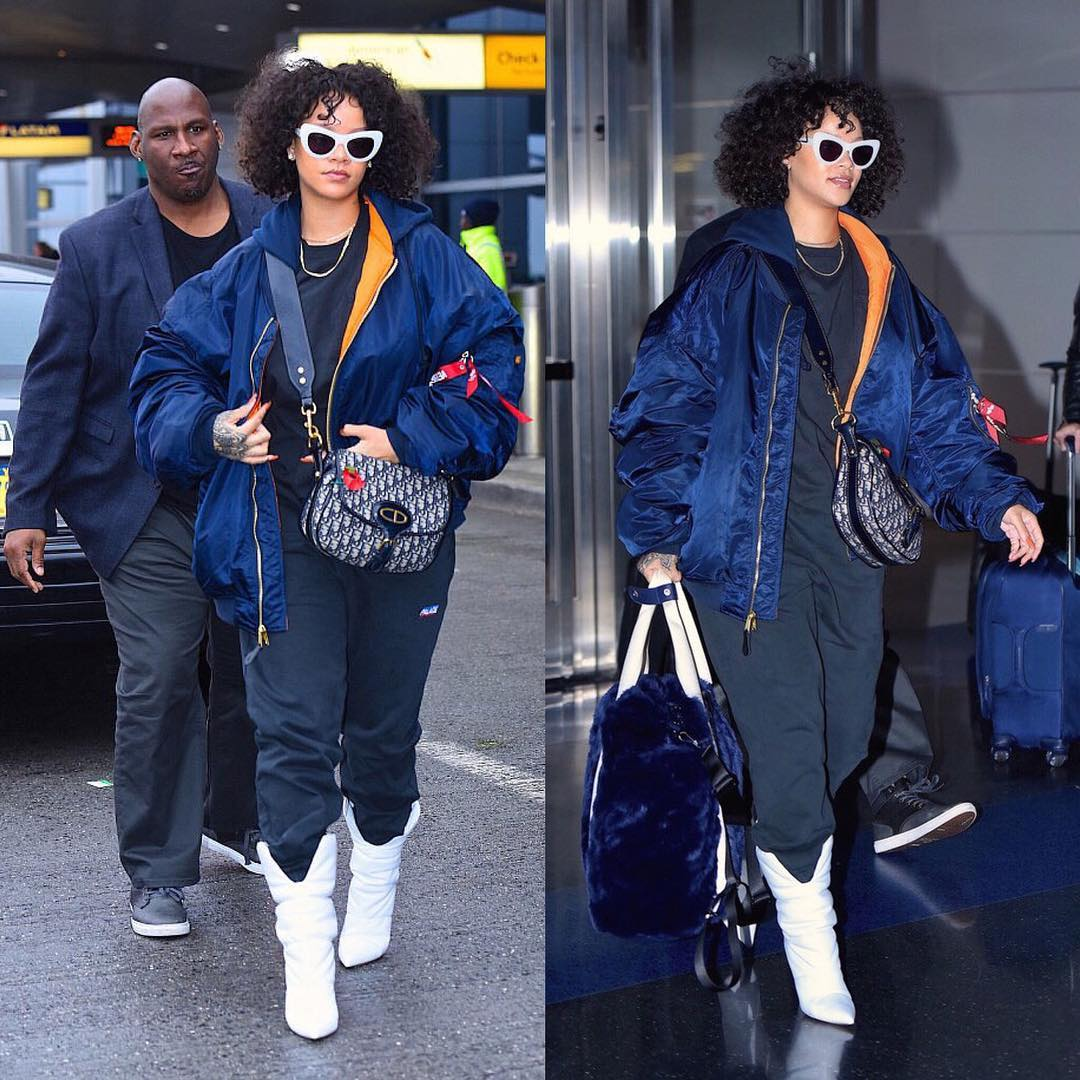 SPOTTED: Rihanna Sports Vetements x Alpha Industries, Palace and More