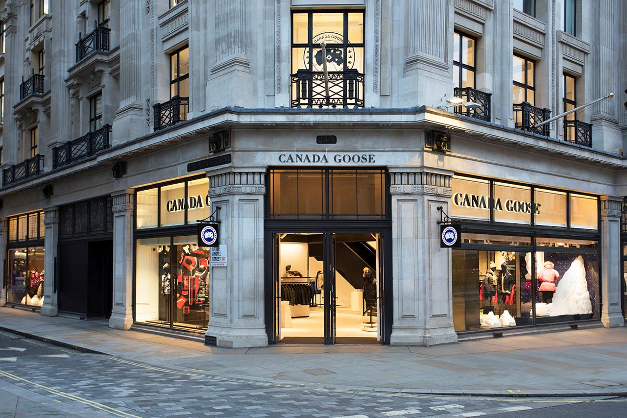 Canada Goose Opens Their First European Flagship Store