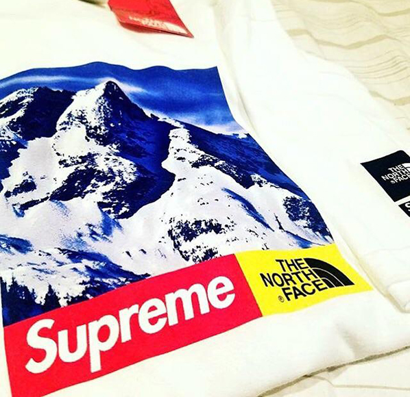 Look at the Leaked Image of The North Face x Supreme T-Shirt