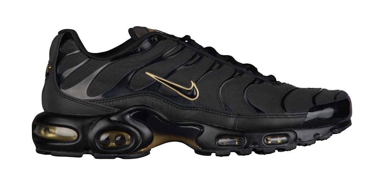 Nike Set to Release the Air Max Plus in Black and Gold