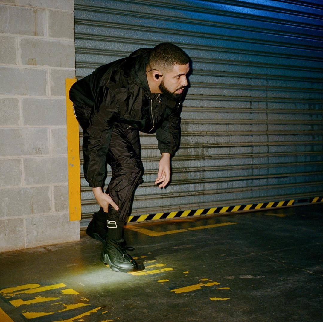 SPOTTED: Drake in an All-Black Aesthetic