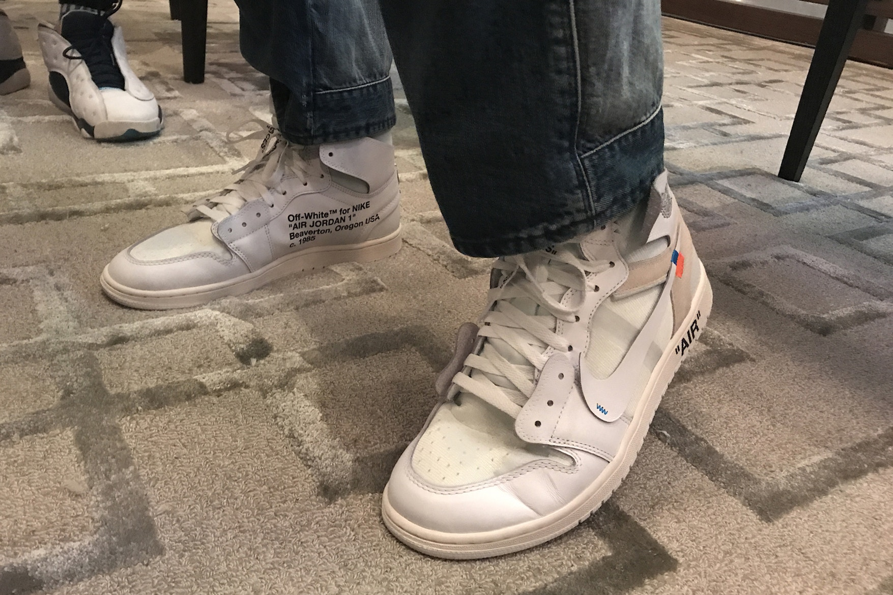 The Off-White x Air Jordan 1 Could Be Set to Receive a White Colourway