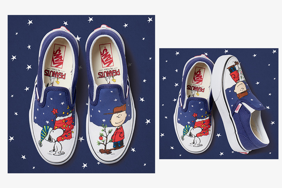 Take a Closer Look at the Vans x Peanuts Holiday Collection