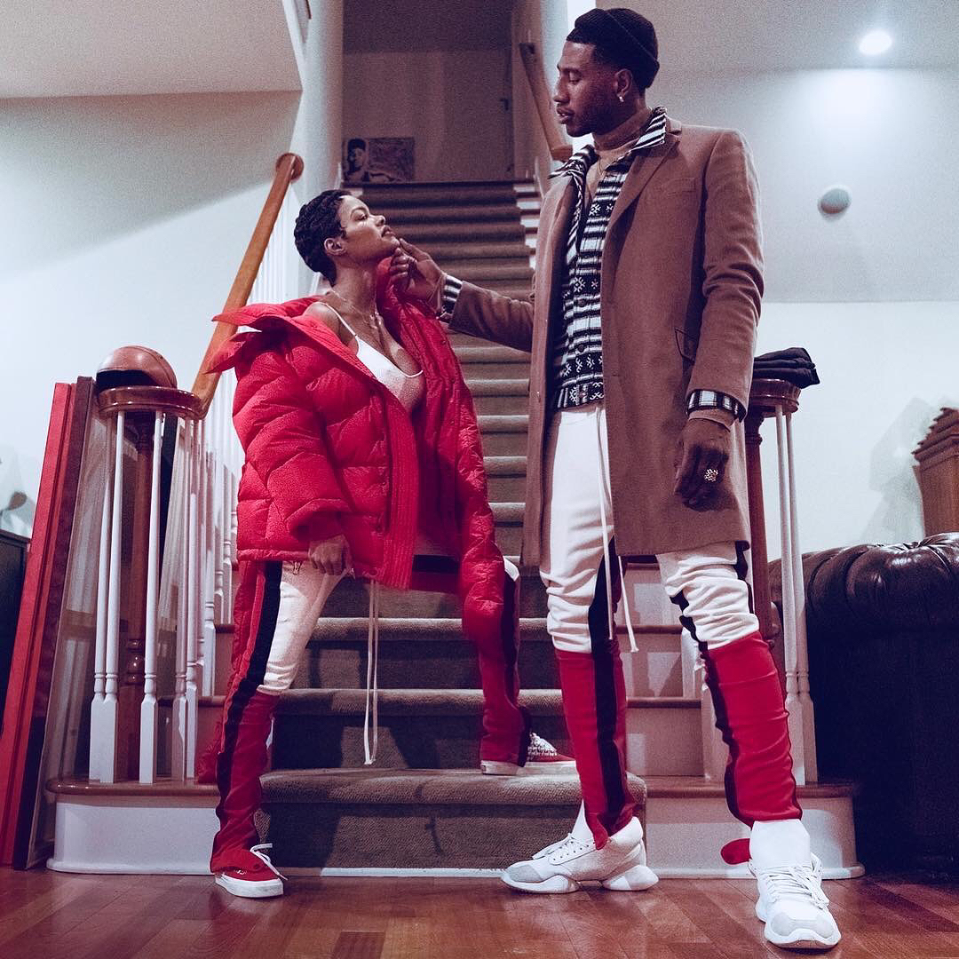 SPOTTED: Iman Shumpert and Teyana Taylor on a Major Marriage Flex
